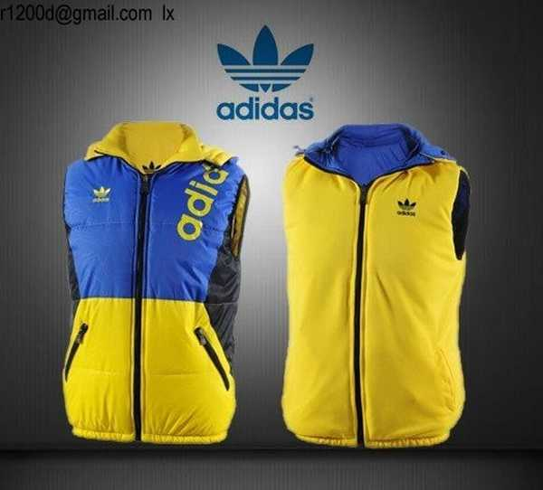 Manche Homme Sans veste Adidas Homme Gilet gilet Adidas SwqXx5Zxpa