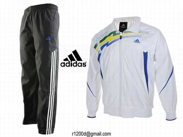 bas de survetement homme adidas coton