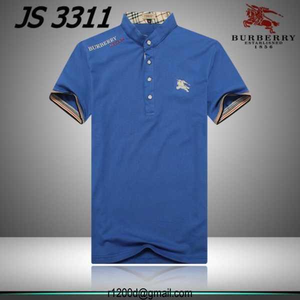 polo burberry homme bleu ciel 5422dff84c59